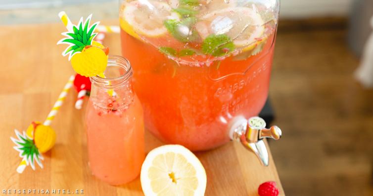 Retseptisahtel-limonaad